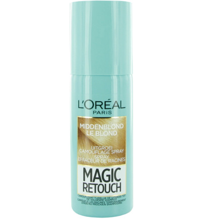 Magic retouch midden blond spray
