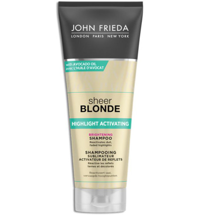 Shampoo sheer blonde highlight activating