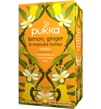 Lemon ginger manuka honey