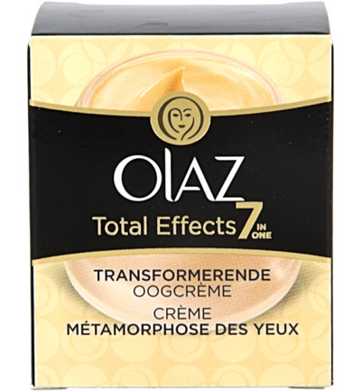 Total effect transformerende oogcreme