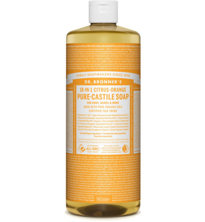 Liquid soap citrus/orange