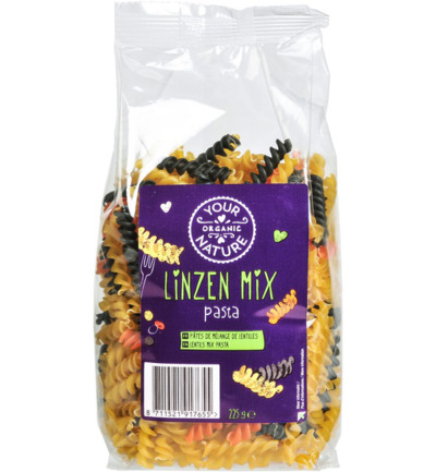 Linzen mix pasta
