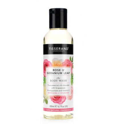 Bodywash rose geranium leaf