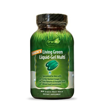 Living green liquid gel multi for men