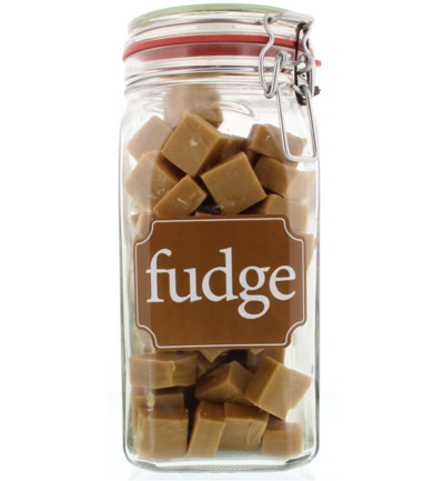 Weckpot fudge