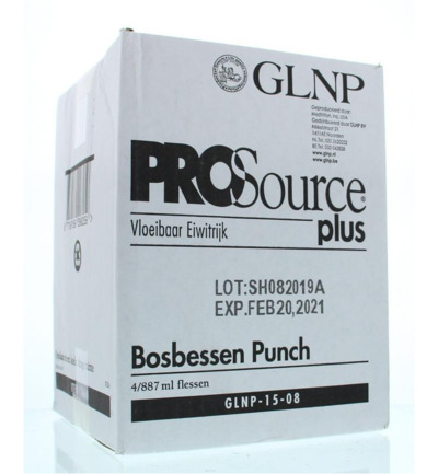 Plus bosbessen 887 ml