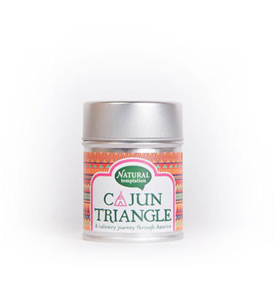 Cajun triangle blikje natural spices