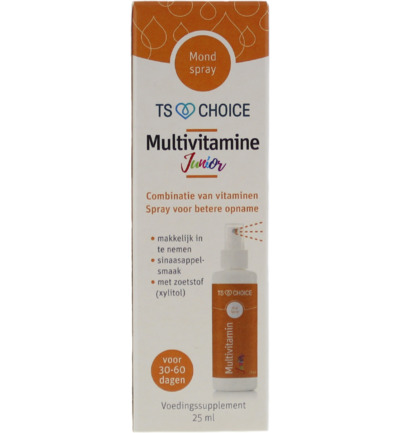 Vitaminespray multivit junior