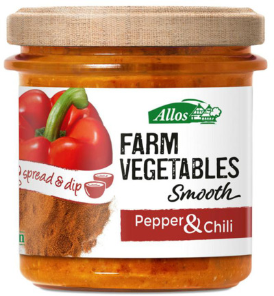 Farm vegetables smooth paprika & chili