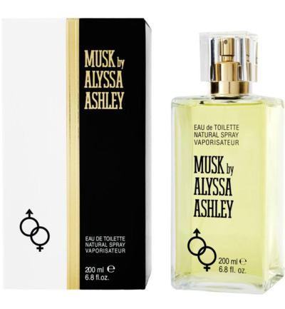 Alyssa Ashley Musk Eau de Toilette (EdT) 200 ml gelb