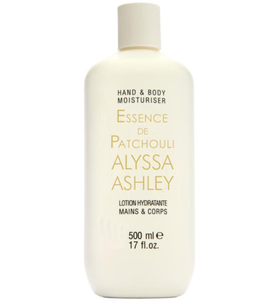 Essence de patchouli hand & body lotion