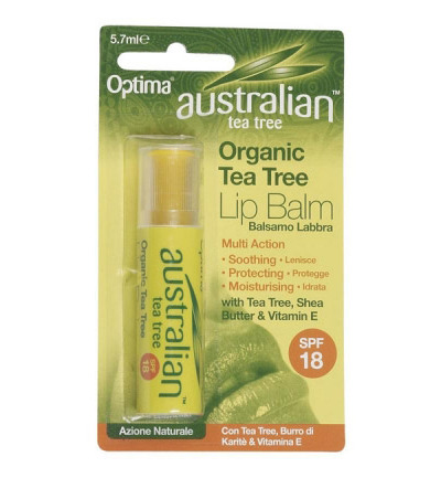 Australian tea tree lip balsem