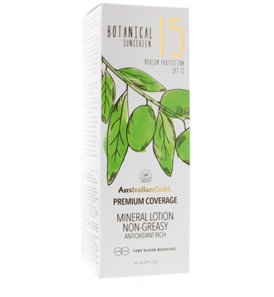 Botanical lotion SPF15