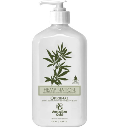 Hemp nation original moisturizing tan extender