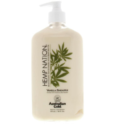 Hemp nation vanilla & pineapple tan extender
