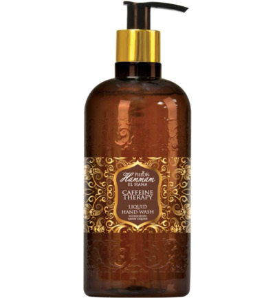 Caffeine therapy liquid hand wash