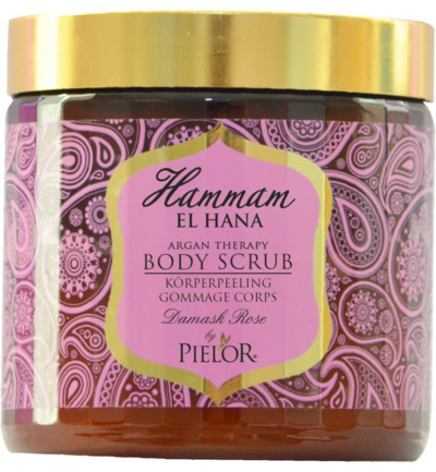 Argan therapy Damask rose body scrub