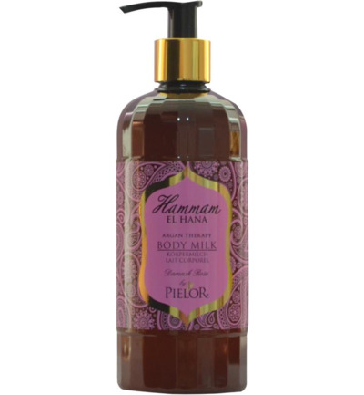 Argan therapy Damask rose body milk