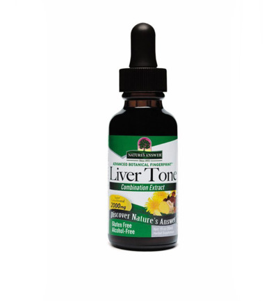 Livertone lever tonicum extract alcvrij 2000 mg