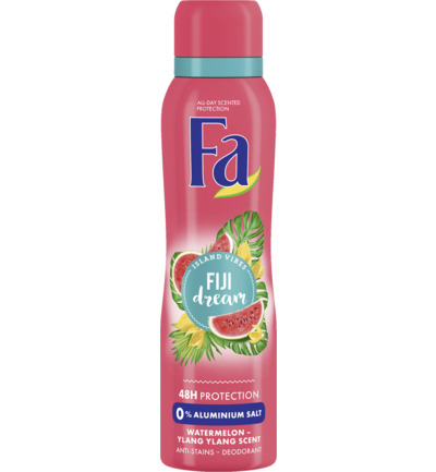 Deodorant spray Fiji dream