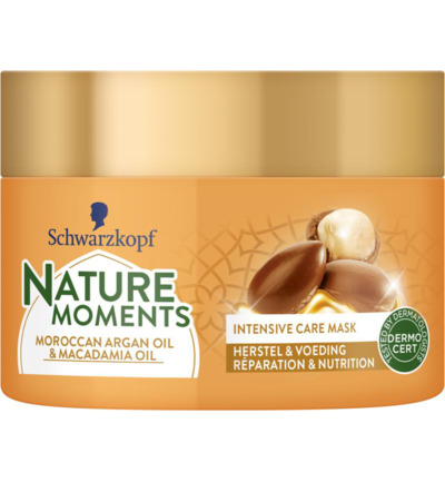 Nature Moments Intensive Care Mask Morrocan Argan Oil & Macadamia Oil