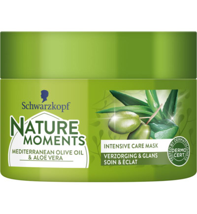 Nature Moments Intensive Care Mask Mediterranean Olive Oil & Aloe Vera