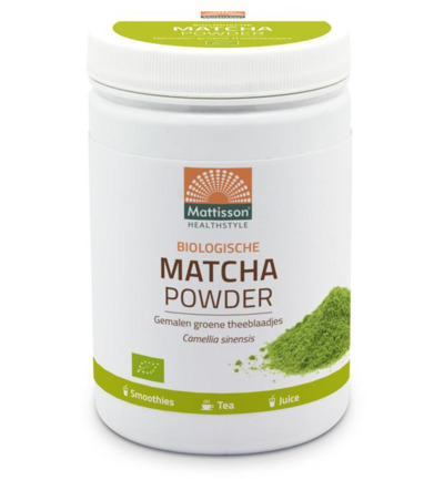 Biologische matcha powder poeder green tea