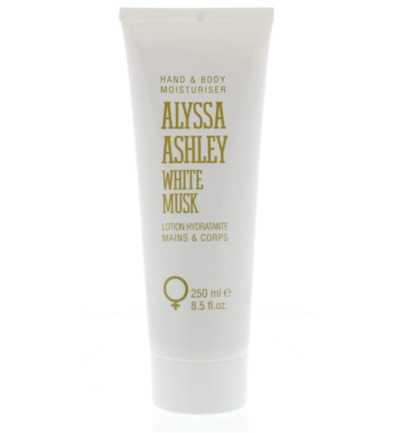 White musk hand & body lotion