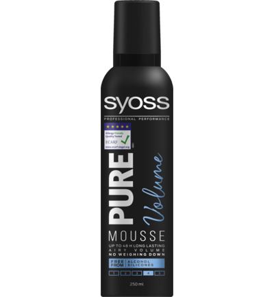 Mousse pure volume