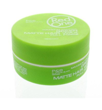 Haarwax matt green