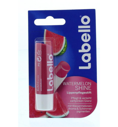 Labello Fruity Shine Lipbalsem Watermelon 5.5 ml