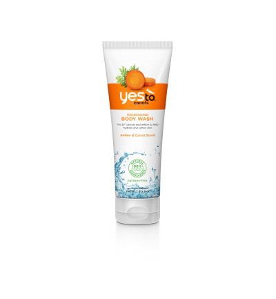 Body wash nourishing tube