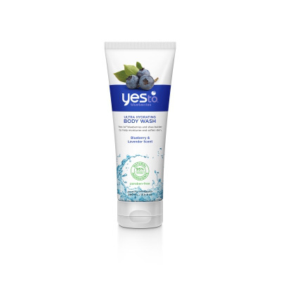 Body wash ultra hydrating tube