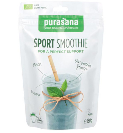 Sport smoothie bio vegan