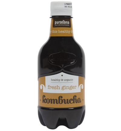 Komboecha drink fresh ginger bio