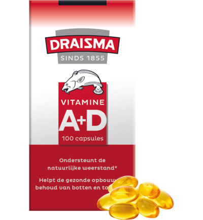 Vitamine A + D levertraan