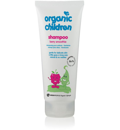 Organic children shampoo berry smoothie