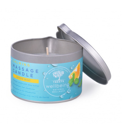 Massage candle calming