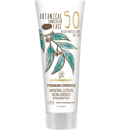 Botanical tinted face SPF50 fair-light