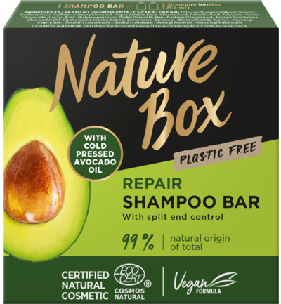 Shampoo bar avocado