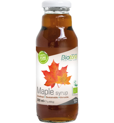 Maple syrup grade A amber