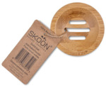 Bamboe solid bar houder rond