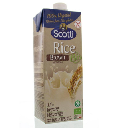 Rice drink brown