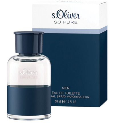 So pure men eau de toilette