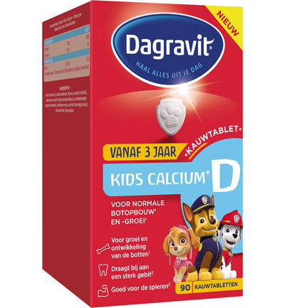 Kids calcium & vitamine D