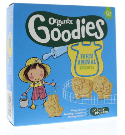 Farm animals biscuits 12+ maanden bio