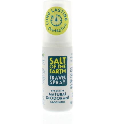 Unscented natural travel spray