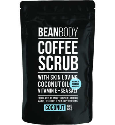 Coffee scrub coconut