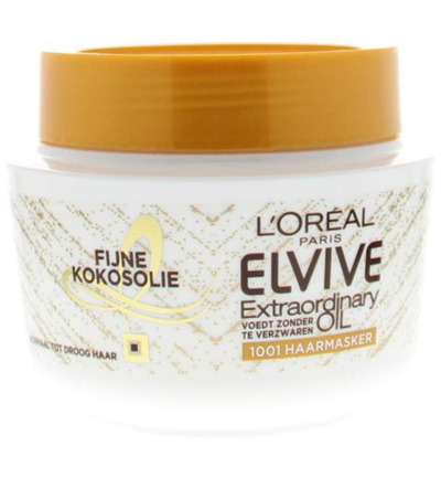 Elvive masker extraordinary oil coconut