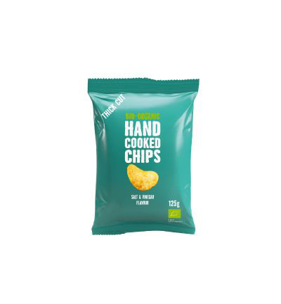 Chips handcooked salt & vineger bio